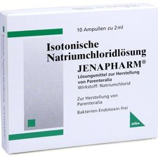 mibe Isotonische Nacl Loesung Amp. (10 x 2 ml)