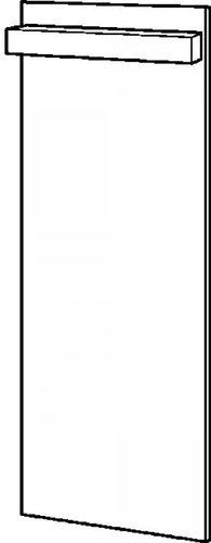 Keramag Icon xs Lichtspiegelelement (37 x 110 x 44 cm)