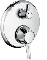 hansgrohe Ecostat Classic Unterputz-Thermostat (Chrom, 15753000)