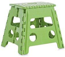 Zeller Klapphocker Color Kunststoff grün (37 x 30 x 32 cm)