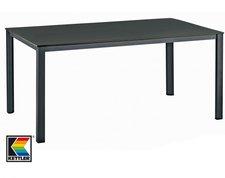 Kettler Advantage Lofttisch 140 x 95 cm anthrazit/eisengrau(Alu/Kettalux)