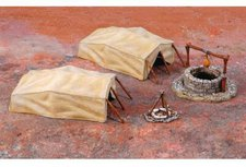 Italeri Desert Well and Tents WWII (6148)