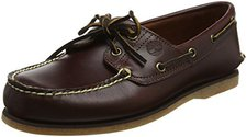 Timberland Classic 2-Eye Boat Shoe - Rootbeer Smooth 25077