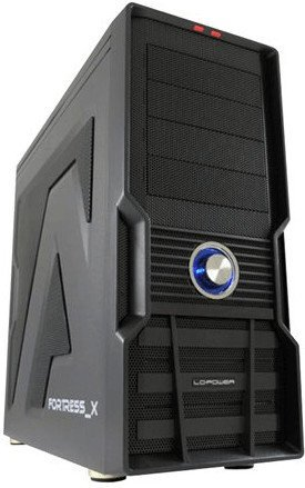 LC-Power Gaming 973W - Fortress_X schwarz