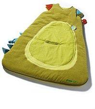 Lilliputiens Schlafsack Drache Walter grün