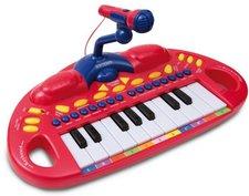 Bontempi Eletronik Keyboard mit Mikrofon (MK1830R)