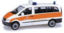 """Herpa Mercedes-Benz Vito Bus  """"Bundeswehr, Blut- und Organtransporte """" (700535)"""