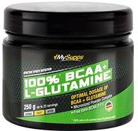 MySupps 100% Pure BCAA plus L-Glutamine