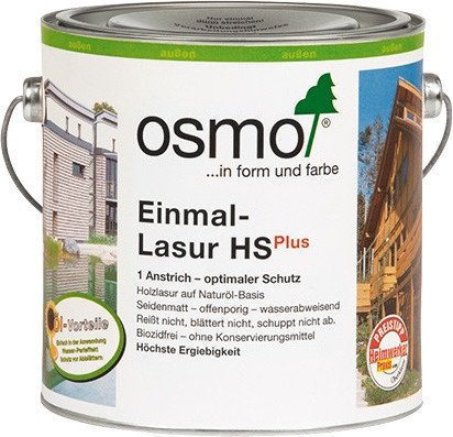 osmo einmal lasur hs plus rotzeder 2 5 liter 9235 g nstig kaufen. Black Bedroom Furniture Sets. Home Design Ideas