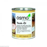 Osmo Teak-Öl farblos klar 2,5 Liter (007)