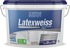 Schöner Wohnen Latexweiss 5 Liter