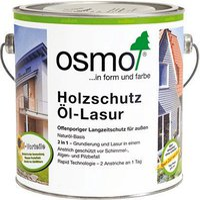 Osmo Holz-Schutz-Öl-Lasur 1140 Achatsilber 0,75 l