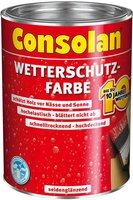 Consolan Wetterschutz-Farbe 0,75 l (verschiednen Farben)