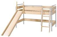 Roba Spielbett mit Leiter und Rutsche