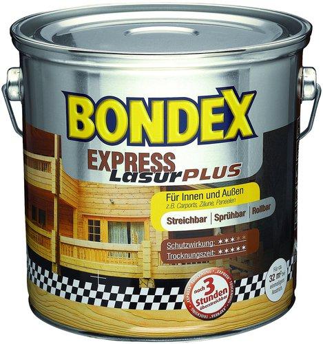bondex express lasur plus 2 5 l verschiedene dekore. Black Bedroom Furniture Sets. Home Design Ideas