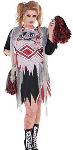 Zombie Cheerleader Halloween Kostum Gunstig Kaufen