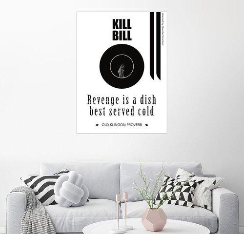 Kill Bill Leinwandbild