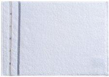 Vossen Quadrati Gästetuch weiß/kiesel (30 x 50 cm)