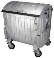 Kruse Müllcontainer 1100 Liter (verzinkt)
