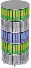 Moll Compactfile Ordnerdrehsäule 93 (5 Etagen)