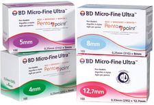 Becton  Bd Micro Fine Ultra Pen-Nadeln 033 x 127 mm (100 Stk.)