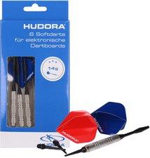 Hudora Dartpfeileset für Elektronik-Dartboard 6 Stück