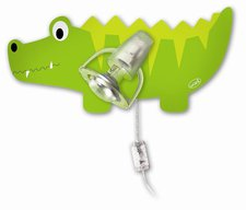 Waldi Wandlampe Krokodil 1-flg.