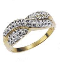 Evoke Gold'n'Ice Kristallgoldring (269370002L)