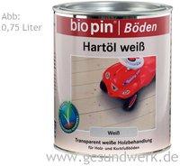 biopin Hartöl Weiß 2,5 l