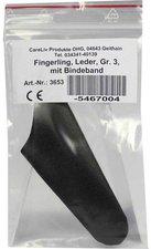 CareLiv Fingerling Leder mit Bindeband Gr. 3