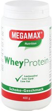Megamax Wheyprotein Lactosefrei Schoko Pulver (400 g)