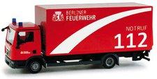 """Herpa MAN TGL Koffer-LKW mit Ladebordwand  """"Feuerwehr Berlin """" (048996)"""