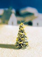 Noch Weiße Weihnacht Christbaum beleuchtet (43810)