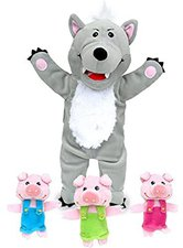 Fiesta Crafts Wolf & die 3 Schweine