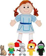 Fiesta Crafts Tellatale Wizard of Oz Fingerpuppen-Set