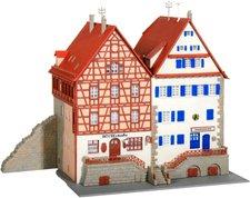 Kibri Häuser a.d. Mauer Schwäbisch Hall (37368)