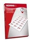 Kores Universal-Etiketten, 70 x 35 mm, weiß (L7035)