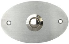 Kopp Klingelplatte Oval, stahl (207720022)