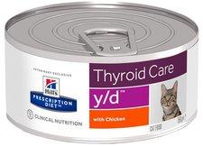 Hills Hill's Prescription Diet Feline y/d (156 g)
