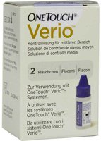 Lifescan One Touch Verio Kontrolllösung mittel (2 x 3,8 ml)
