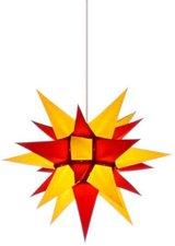 Herrnhuter Sterne Stern Innenbereich gelb rot (40 cm)