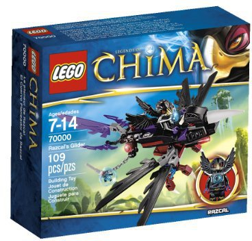 LEGO Legends of Chima - Razcals Rabengleiter (70000)