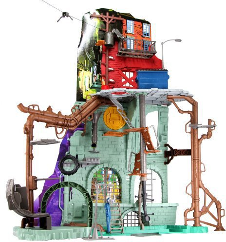 Playmates Teenage Mutant Ninja Turtles Secret Sewer Lair Playset