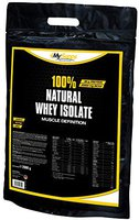 MySupps 100% Natural Whey Isolate (2500g)
