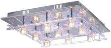 LeuchtenDirekt Deckenleuchte 9-flg. G4 LED Chrom (50366-17)