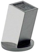 Zeitgeist Design Messerblock Edelstahl unbestückt