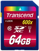 Transcend Ultimate SDXC 64GB Class 10 UHS-I (TS64GSDXC10U1)