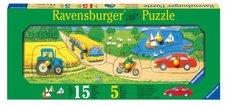 Ravensburger Holzpuzzle Fahrzeuge und Boote
