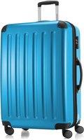 Hauptstadtkoffer 4-Rollen-Hartschalen-Trolley 75 cm blau metallic