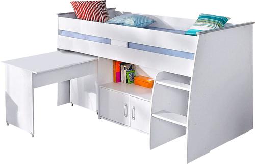 g nstige hochbetten mit schreibtisch, parisot hochbett reverse mit schreibtisch weiß günstig kaufen, Design ideen